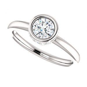 Briliantový prsteň Nerida zo 14k bieleho zlata
