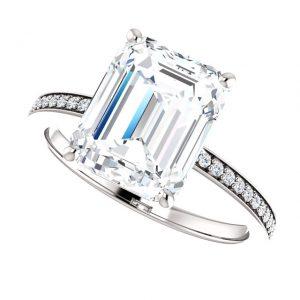 Briliantový prsteň Sonnet zo 14k bieleho zlata